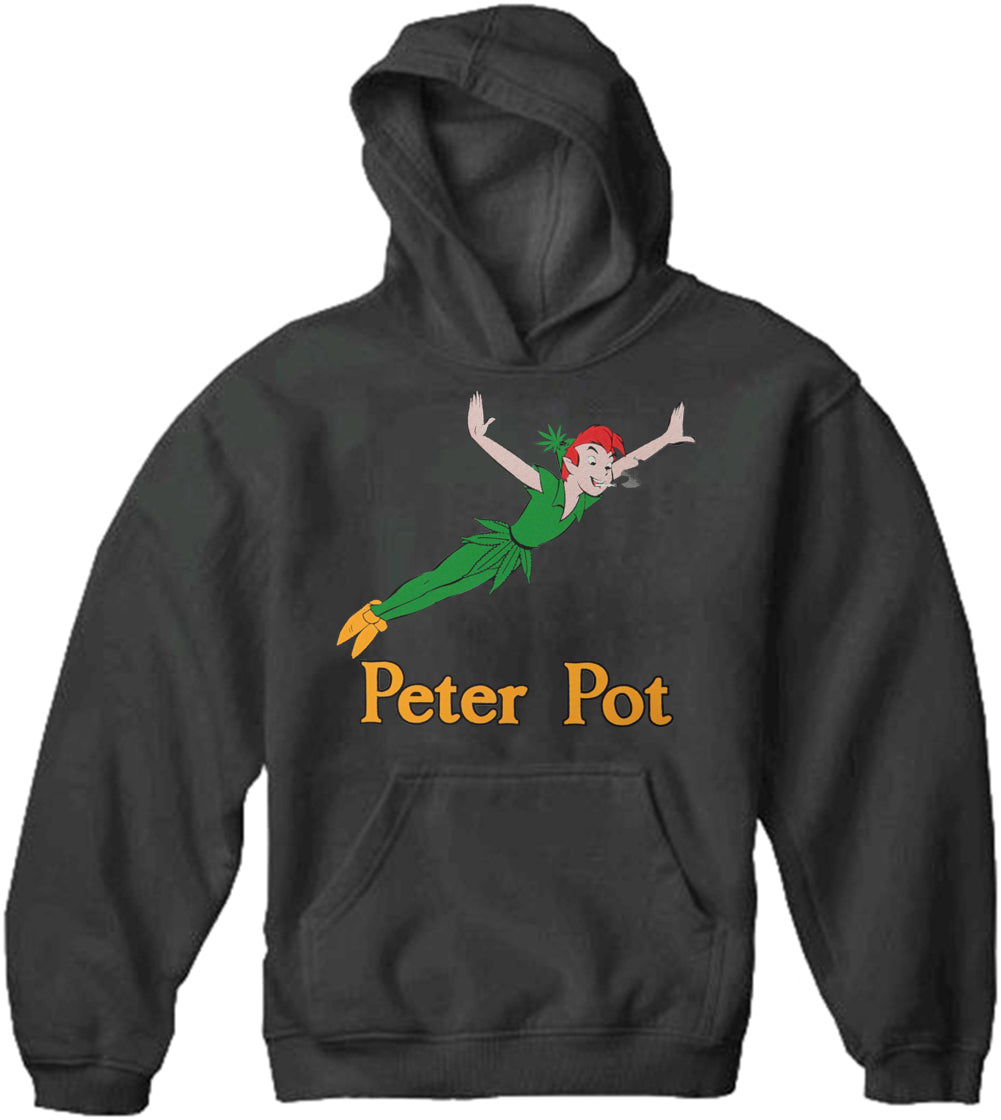 Peter Pot Funny Adult Hoodie