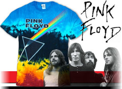 "Pink Floyd ""Us and Them"" Tie Dye T-Shirt"