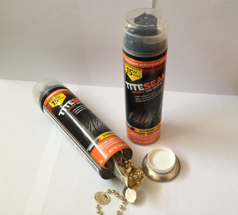 Tite Seal Instant Tire Repair Diversion safe