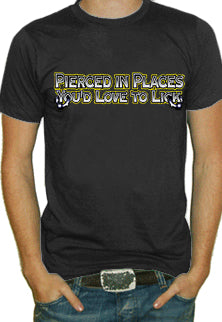 Places You'd Love To Lick T-Shirt
