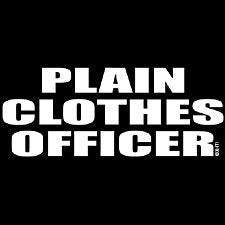 Plain Clothes Officer Girls T-Shirt