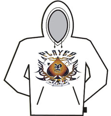 Player Tribal Poker Hoodie