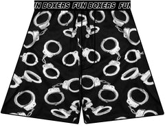 Police Officer Gifts - Handcuffs Boxer Shorts
