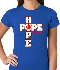 Pope Francis - Hope Ladies T-shirt