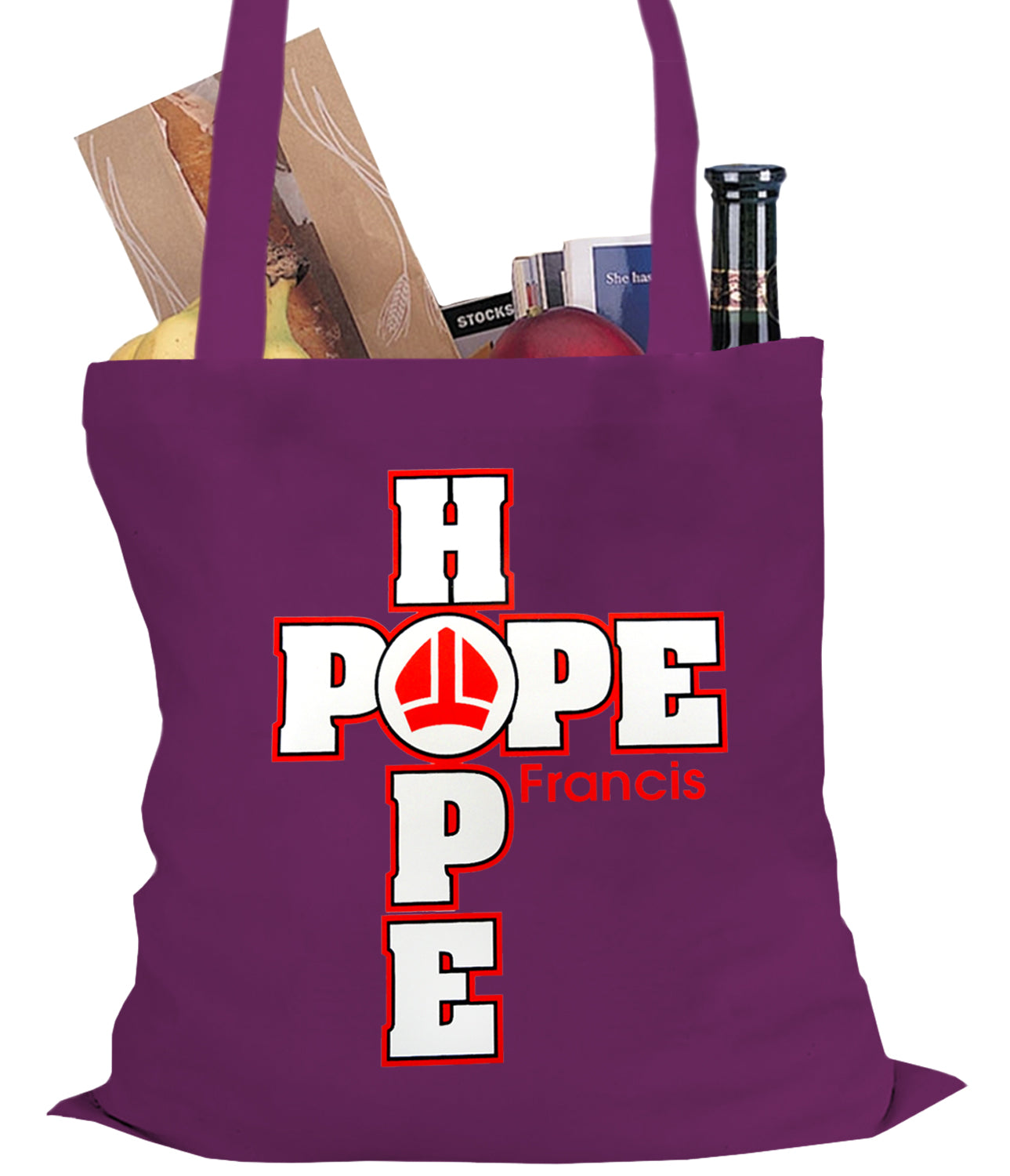 Pope Francis - Hope Tote Bag