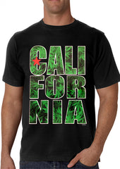 Pot Leaf California Men's T-Shirt
