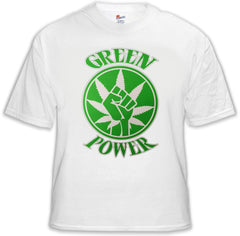 Pothead & Stoner Tees - Green Power T-Shirt