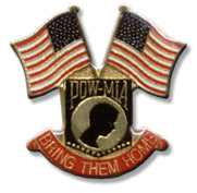 POW Bring Them Home Lapel Pin