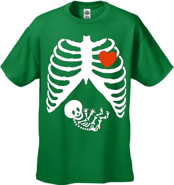 Pregnant Skeleton Men's T-Shirt