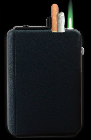 Premium Dual Compartment Automatic Cigarette Dispenser with Lighter