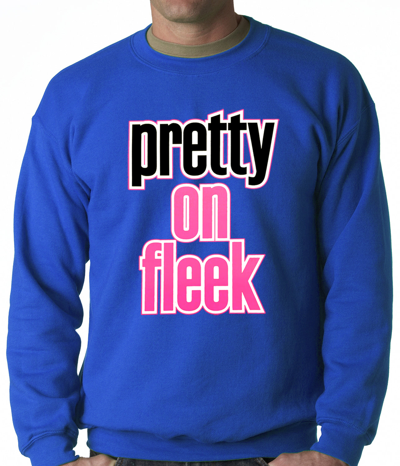 Pretty on Fleek Adult Crewneck