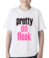 Pretty on Fleek Kids T-shirt