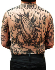 Men's Full Body Tattoo Shirt - Prison Ink Full Body Tattoo Shirt