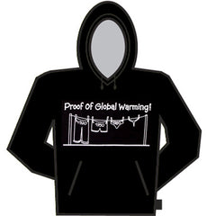 Proof Of Global Warming Hoodie