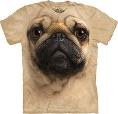 Pug Big Face Men's T-Shirt