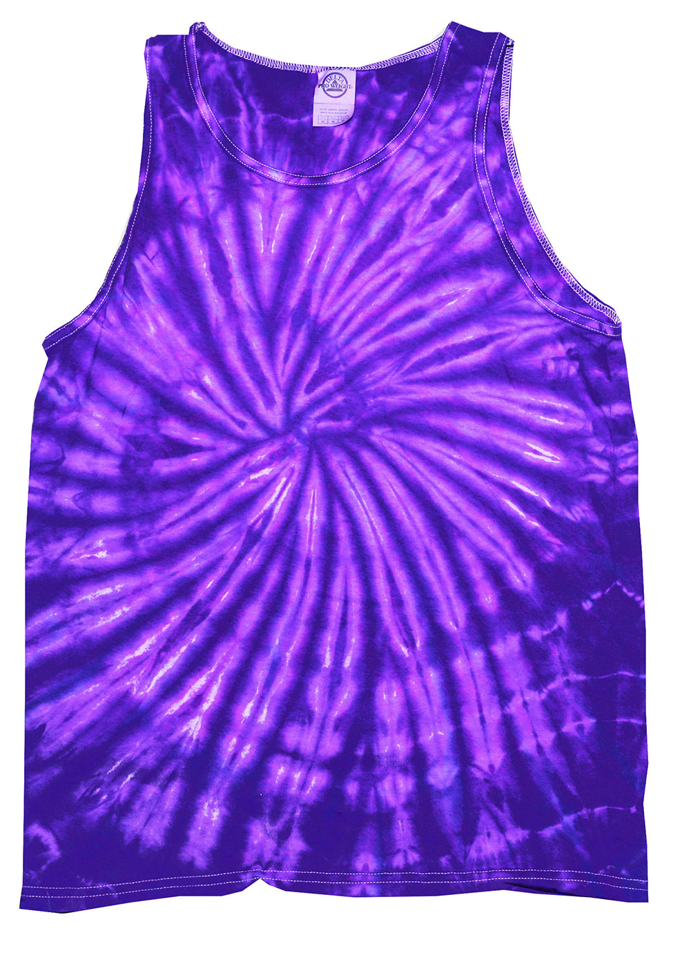 Purple Spider Tie Dye Tank Top