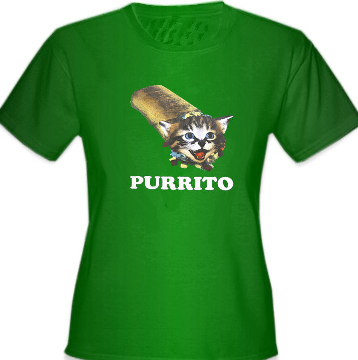 Purrito Girl's T-Shirt