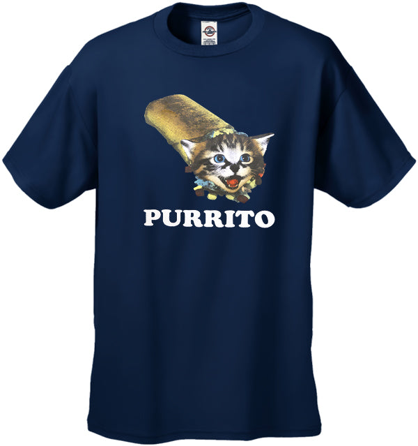Purrito Men's T-Shirt
