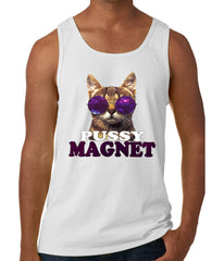 Pussy Magnet Funny Kitten Tank Top