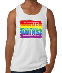 Rainbow Love Wins Gay Marriage Equality Tank Top