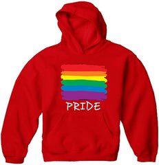 Rainbow Pride Colors Adult Hoodie