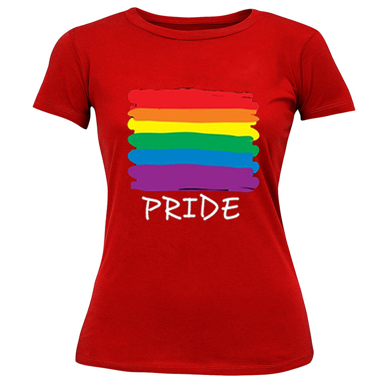 Rainbow Pride Colors Girl's T-Shirt