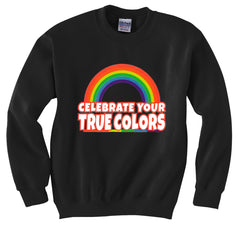Rainbow Pride Crew Neck Sweatshirt