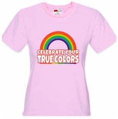 Rainbow Pride Girl's T-Shirt