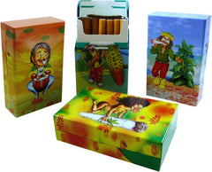 Rasta Design Full Pack Cigarette Box  For Regular Sized Cigarettes (Box of 12)