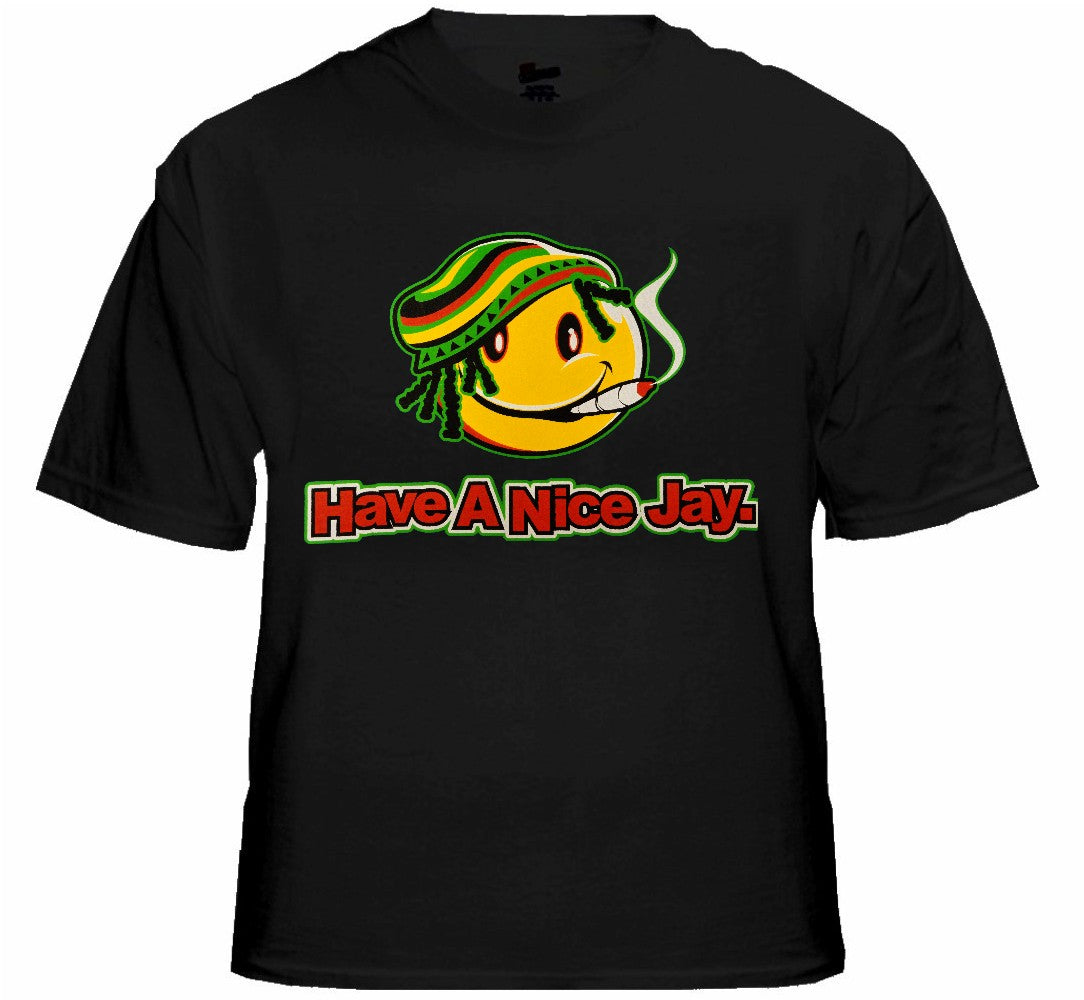 Rasta Smiley Tee - Have a Nice Jay T-Shirt