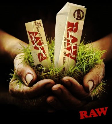"Raw - Unrefined Organic Rolling Papers - [1.25"" x 1 1/4""]"