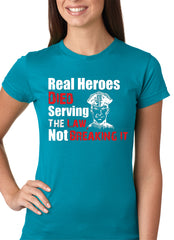 Real Heroes Girls T-shirt