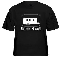 Rebel & Redneck Tees - White Trash T-Shirt