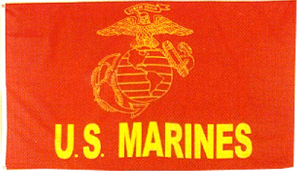 Red US Marines Flag – Bewild 6284a285790