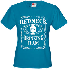 Redneck Drinking Team Girl's T-Shirt