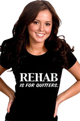 Rehab Is For Quitters Girls T-Shirt
