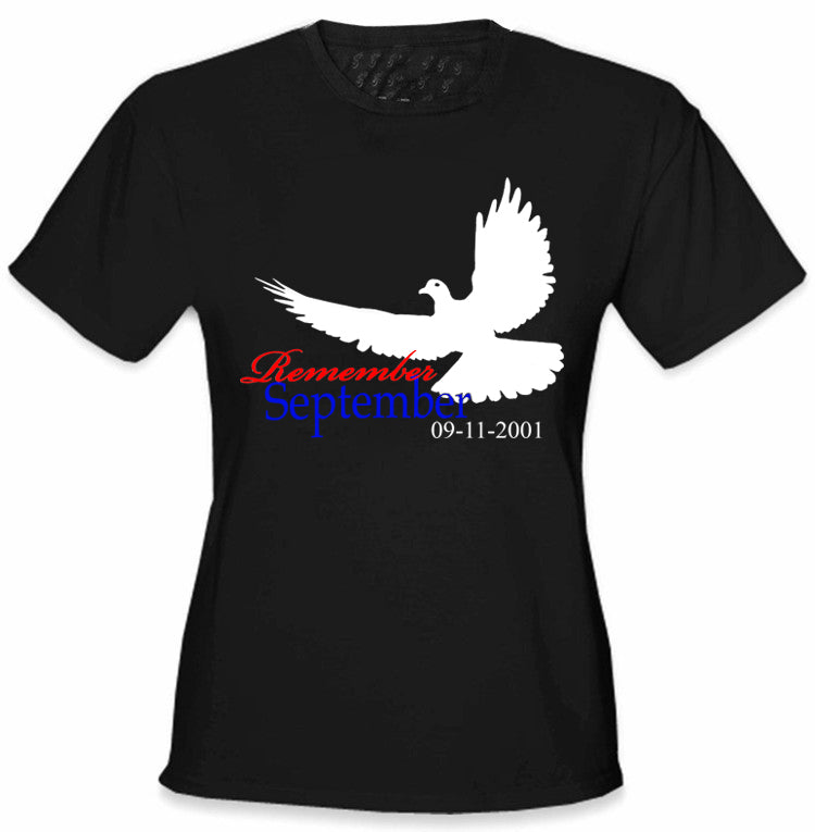 Remember September 9/11 Girl's Tee