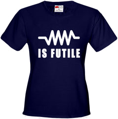 Resistance Is Futile Borg Girl's T-Shirt