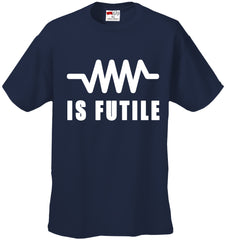 Resistance Is Futile Borg Men's T-Shirt
