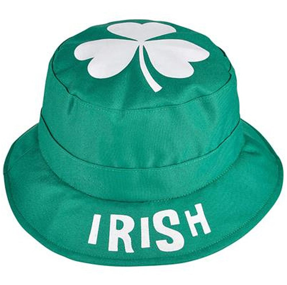 Reversible St. Patrick's Day Irish Green Bucket Hat