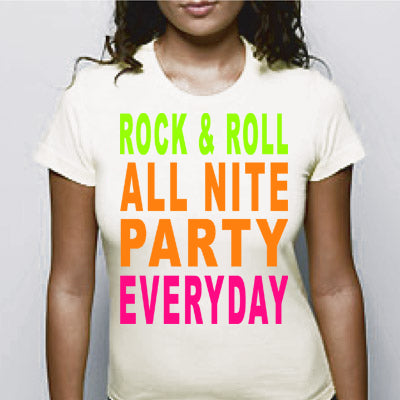 Rock & Roll All Nite Girls T-Shirt