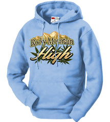 Rocky Mountain High Adult Hoodie