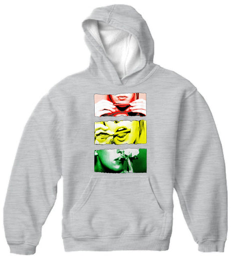 Roll It, Lick It, Smoke It Adult Hoodie