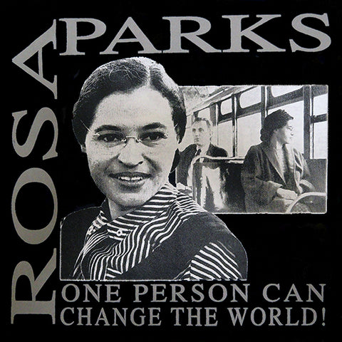 "Rosa Parks ""Change The World"" Girl's T-Shirt"