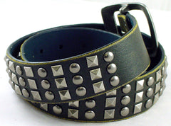 Rounded And Pyramid Studded Belt