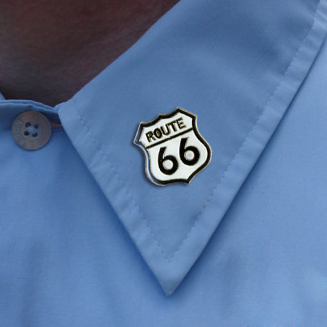 Route 66 Lapel Pin