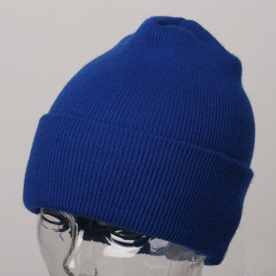 Royal Blue Winter Beanie