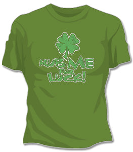 Rub Me For Luck Girls T-Shirt