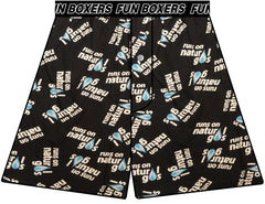 Runs on Natural Gas Boxer Shorts