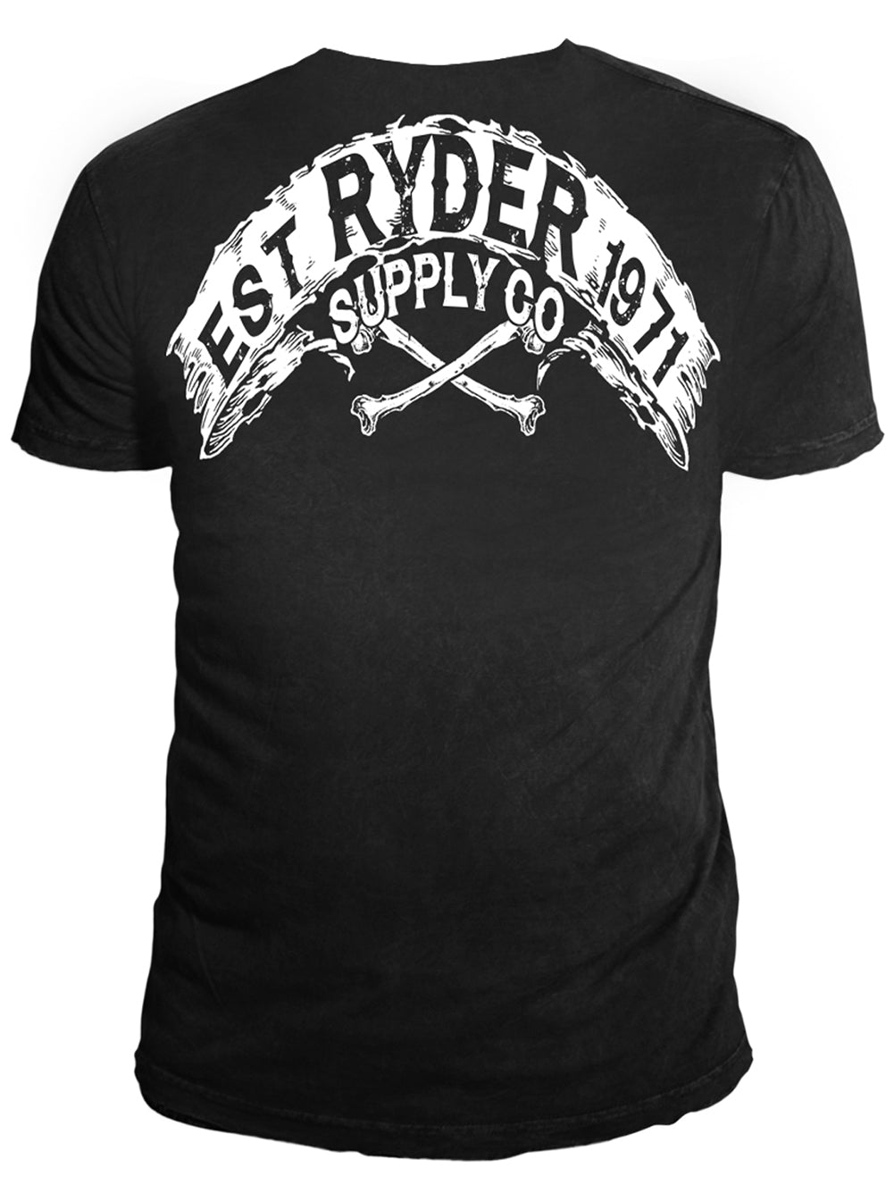 Ryder Supply Clothing - Fly Mens T-shirt (Black)